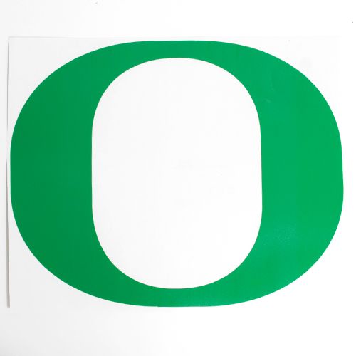 Classic Oregon O, Decal